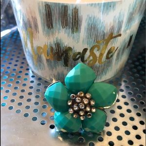 🦋Very Vintage Silver Turquoise Ring🦋
